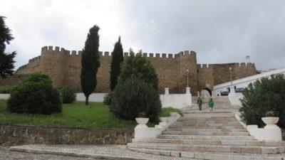 Le château d'Estremoz