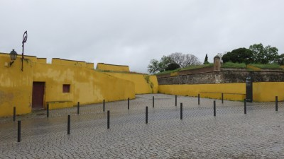 Les fortifications de la ville d'Elvas