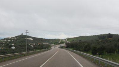 Sur la route entre Elvas et Vila Viçosa