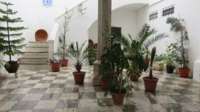 Un patio à Moura
