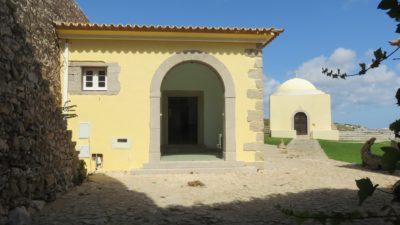 Le fort de Beliche et la petite chapelle Sainte Catherine