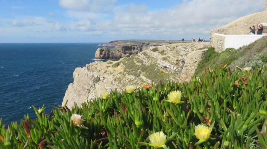 La vue Ouest depuis le phare du Cap St Vincent