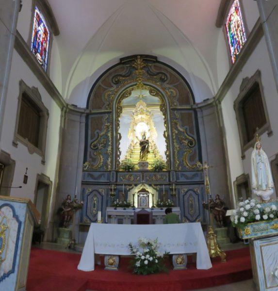 L'église de Vila de Santo Antonio