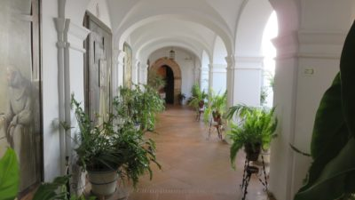 Le cloître du monastère de La Rabida