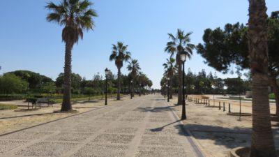 L'entrée du monastère de La Rabida