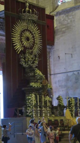 Dans la cathédrale de Séville