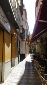 Dans les ruelles de Séville