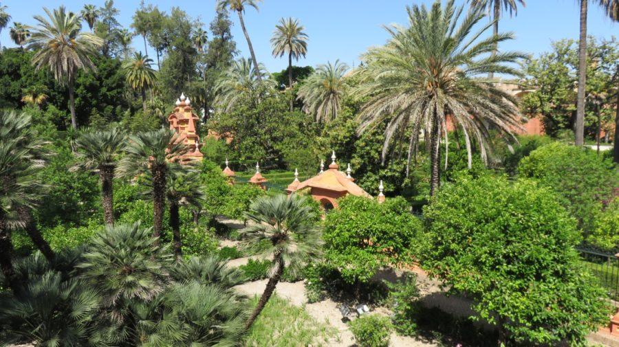 Les jardins de l'Alcazar de Séville