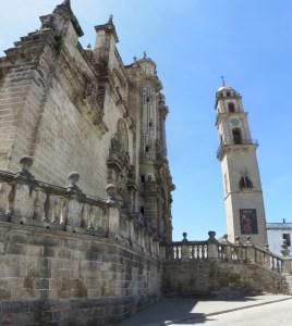 La cathédrale de Jerez de la Frontera