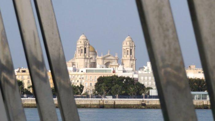 Vue sur Cadix et la Cathédrale