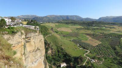 Campagne environnante depuis Ronda