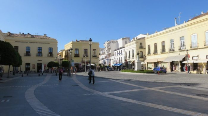 La Calle Espinel du quartier Mercadillo de Ronda