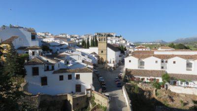 Vue sur la ville de Ronda