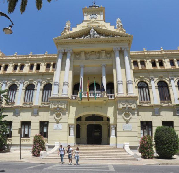 L'Hôtel de ville de Malaga