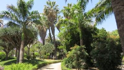 Le parc de Malaga