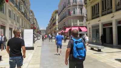 Centre ville de Malaga