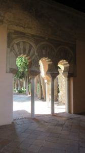 Dans l'Alcazaba de Malaga