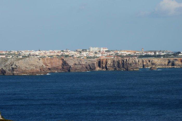 Sagres vue du Cap St Vincent