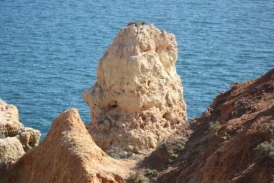 Les falaises déchiquetées de Carvoeiro