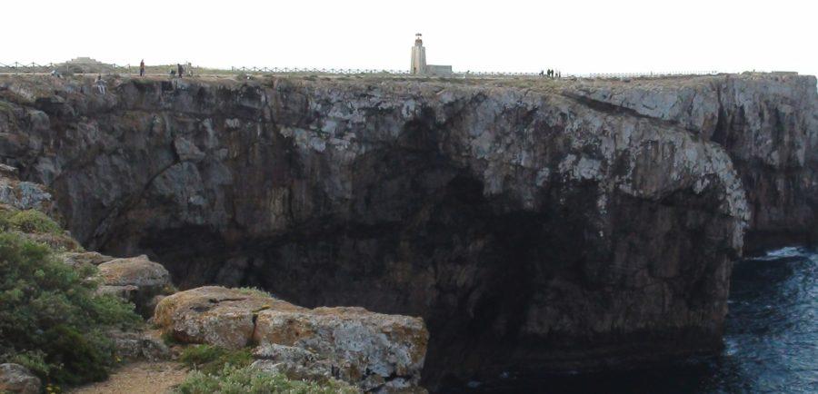 Le phare de la forteresse de Sagres