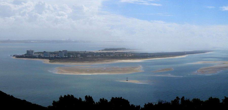Vue sur la mer depuis le Parc National  de la Serra d'Arrabida