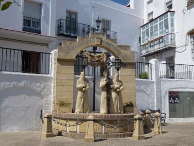 Statue du Chemin de Croix - Arcos de la Frontera