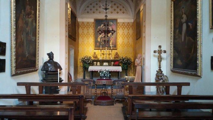 La chapelle du palais d'Isola Madre (îles Borromées)