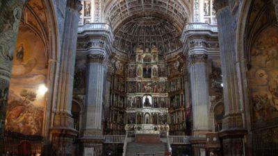 L'église du monastère de San Jéronimo - Grenade