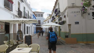 Les rues des patios privés de Cordoue