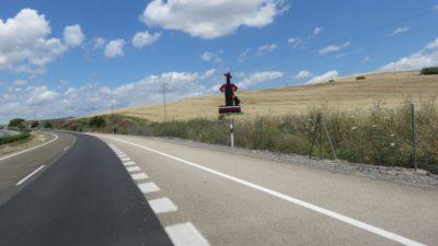 Sur la route entre Cordoue et Baeza