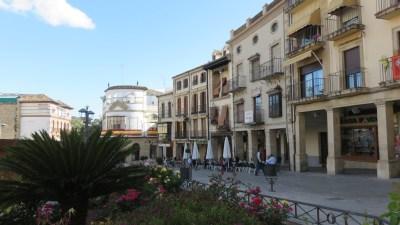 Le centre ville d'Ubeda
