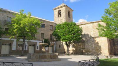 plaza de Vazquez de Molina à Ubeda