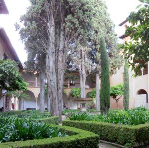 Les jardins de l'Alhambra