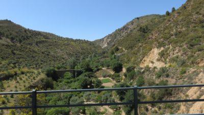 Sur la route des Alpujarras entre Grenade et Almeria