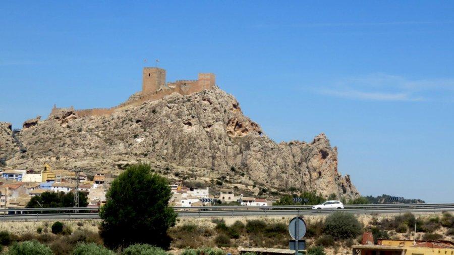 Le château de Lorca
