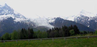 Le glacier de Chamonix