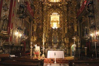 Le retable de la basilique St Juan de Dios - Grenade