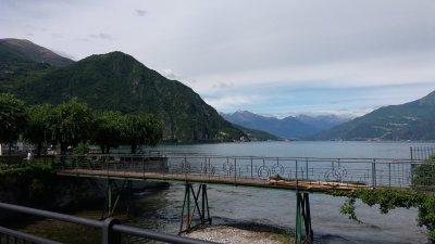 Le long du lac Majeur