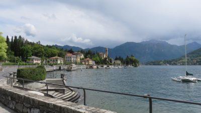 Le long du lac de Côme
