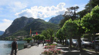 Le bord de lac de Côme à Menaggio