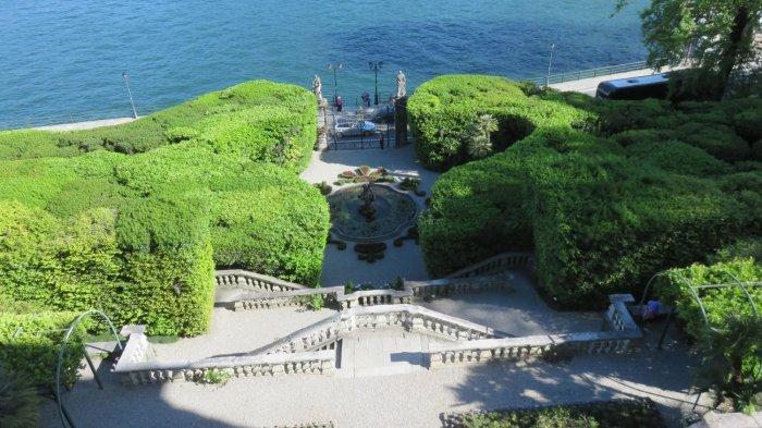 Vue depuis la villa Carlotta -Tremezzo