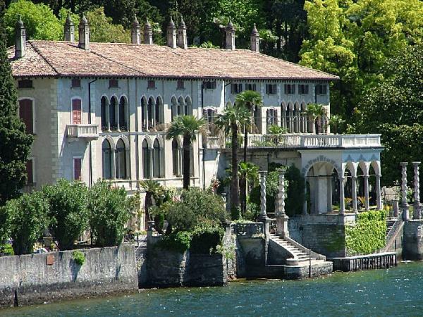 La villa Monastero - Varenna