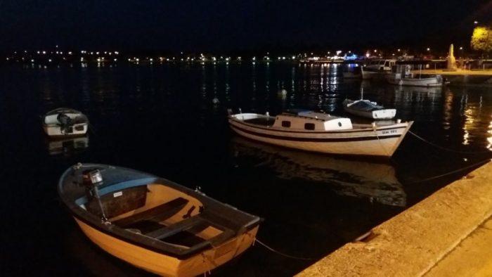 Le port d'Umag le soir