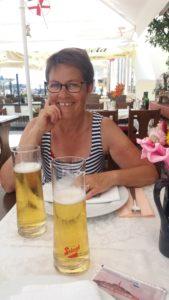 Au restaurant à Rovinj