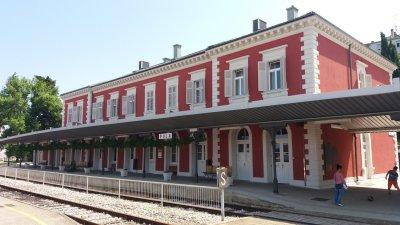 La gare de Pula