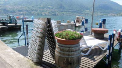 Le port de Peschiera Maraglio sur Monte Isola