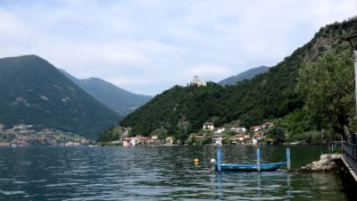 Le château Oldofredi-Martinengo sur Monte Isola