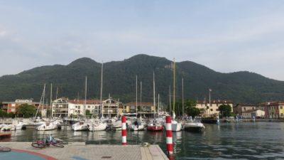 Le port d'Iseo