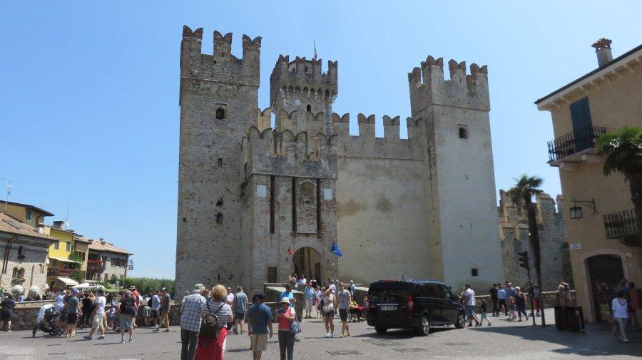 Le château des Scaligeri à Sirmione