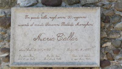 La maison de Maria Callas à Sirmione